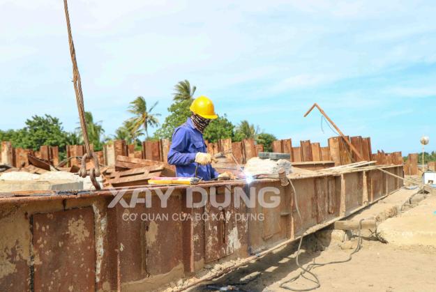 Ngành Xây dựng Ninh Thuận tăng cường công tác phòng, chống dịch Covid-19 trên công trường