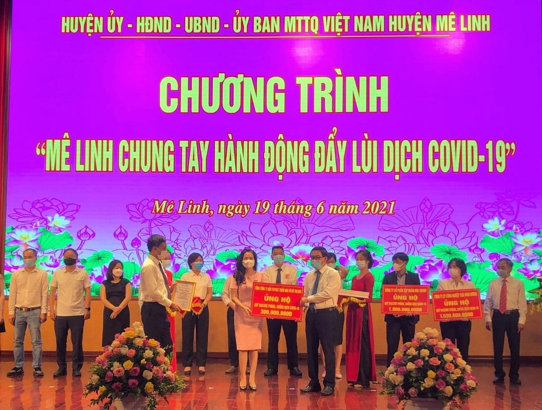 cong ty hud ung ho 2 ty dong cho quy vac xin phong chong covid 19 cua chinh phu