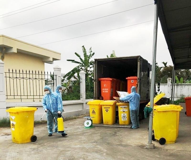 Hải Phòng: Công nhân môi trường đô thị chung tay phòng, chống dịch bệnh Covid-19