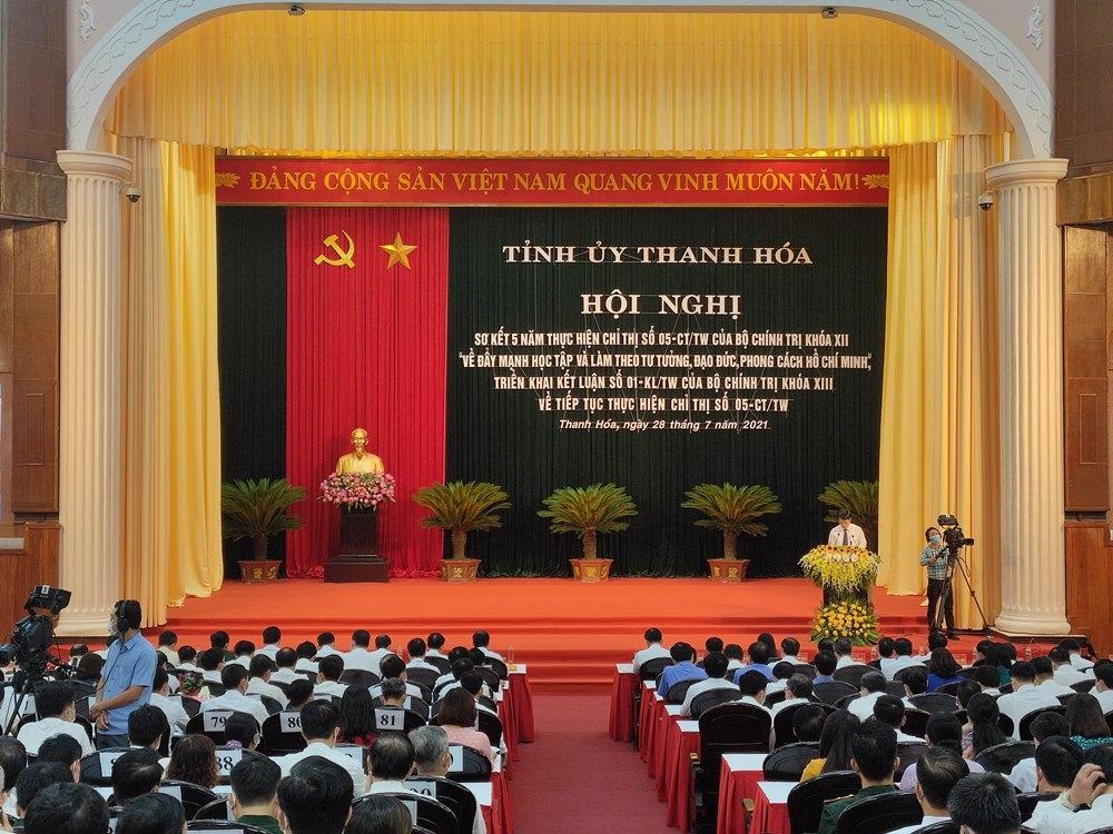 Thanh Hóa: Hội nghị sơ kết 5 năm thực hiện Chỉ thị số 05-CT/TW của Bộ Chính trị khóa XII