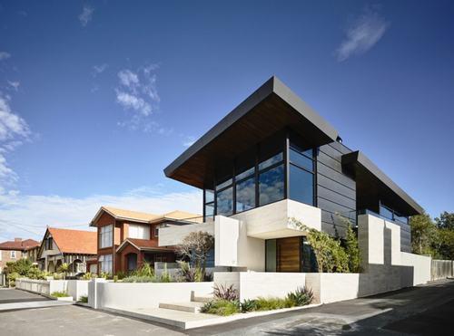 223514baoxaydung image001 Cùng nhìn qua nét hiện đại của biệt thự nghỉ dưỡng ở ngoại ô nước Úc