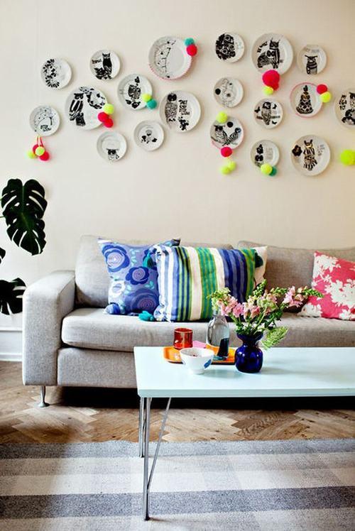 232446baoxaydung 14 Chia sẻ những ý tưởng trang trí tường tạo nên sự khác biệt
