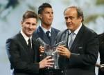 Messi vượt Ronaldo, thắng giải Cầu thủ hay nhất châu Âu