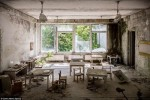 Thị trấn ma 30 năm sau vụ nổ hạt nhân Chernobyl