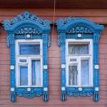 Khung cửa sổ truyền thống mang đậm nét lịch sử của Nga