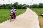 Thái Nguyên đầu tư xây dựng hạ tầng nông thôn mới