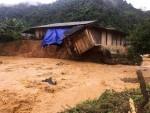 Điện Biên vẫn chưa tìm thấy 2 người bị nước lũ cuốn mất tích