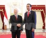 Tổng Bí thư Nguyễn Phú Trọng gửi Điện cảm ơn Tổng thống Indonesia