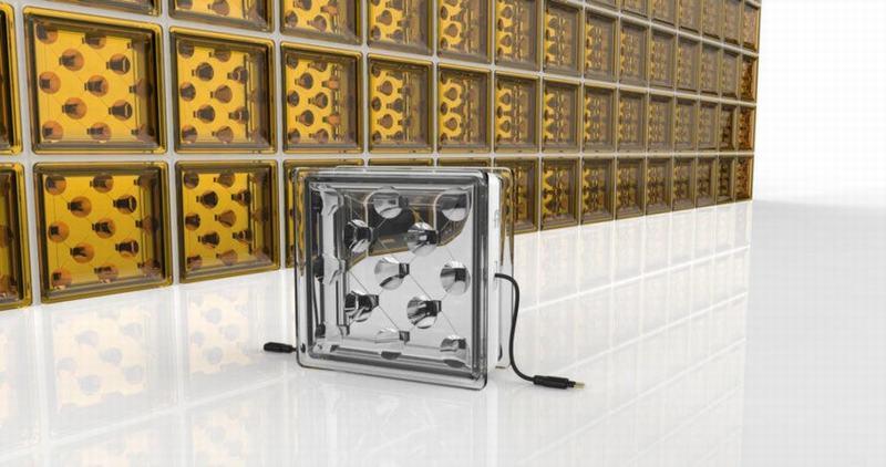 Các khối xây dựng bằng kính tự sản sinh năng lượng