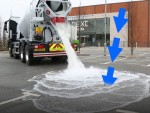 Bê tông mới có thể hấp thụ nước