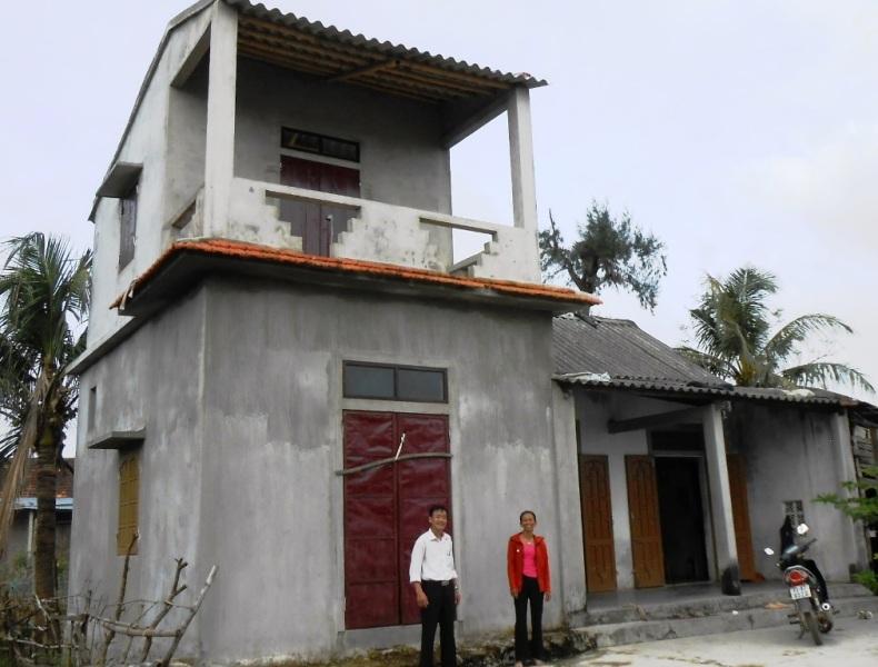 Quảng Bình: Thêm 79 hộ nghèo được hỗ trợ xây nhà ở phòng tránh bão, lụt