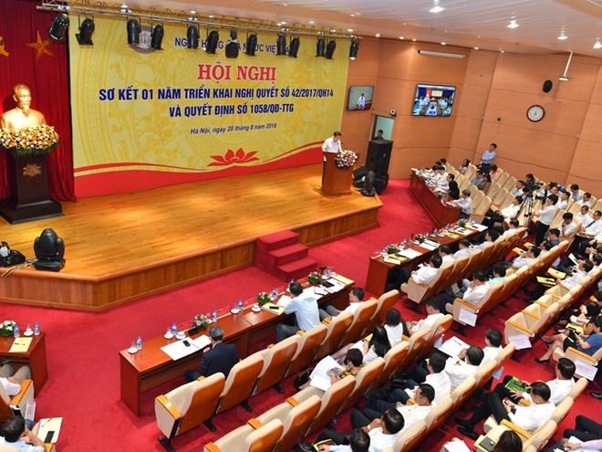 Phó Thủ tướng: Không được để mất đà trong xử lý nợ xấu