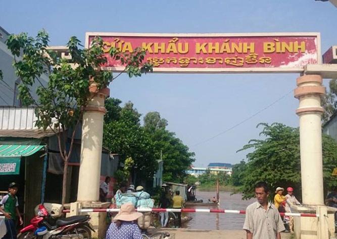Góp ý việc nâng cấp cửa khẩu chính Khánh Bình lên cửa khẩu quốc tế đường bộ và đường thủy