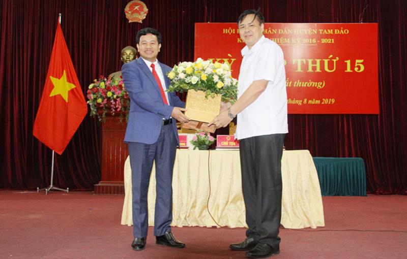 Vĩnh Phúc: Huyện Tam Đảo có Chủ tịch mới
