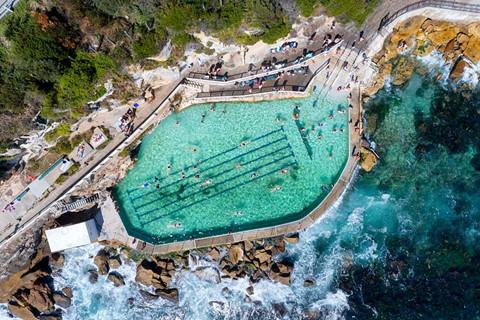Bể bơi giữa biển khơi, trải nghiệm độc nhất ở Australia