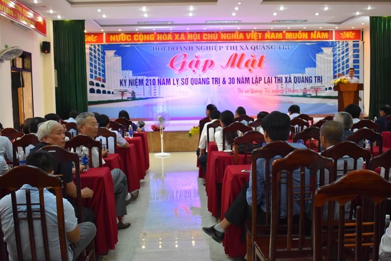 Quảng Trị: Gặp mặt kỷ niệm 210 năm lỵ sở và 30 năm lập lại thị xã Quảng Trị