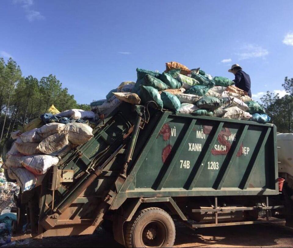Quảng Trị: Hoạt động thu gom rác thải ở Vĩnh Linh còn nhiều bất cập