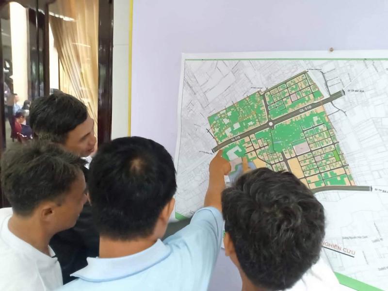 Người dân biểu quyết phản đối quy hoạch lần 8 Khu Trung tâm Chí Linh do DIC Corp làm chủ đầu tư