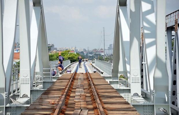 Dự kiến chạy thử tàu qua cầu đường sắt Bình Lợi mới trong tháng Chín