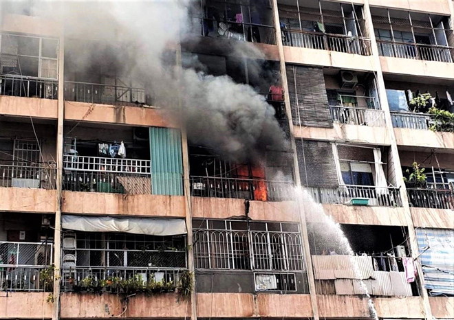 Đề xuất phá dỡ ký túc xá giữa trung tâm Sài Gòn sau sự cố cháy nổ