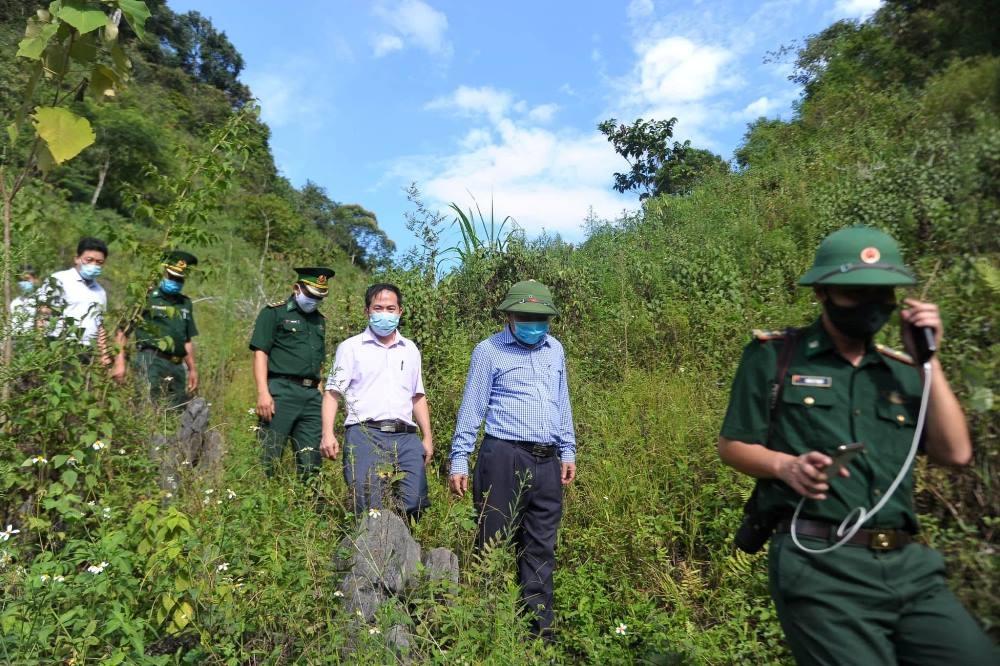 Nghệ An: Tăng cường kiểm tra phòng, chống Covid-19 các huyện biên giới