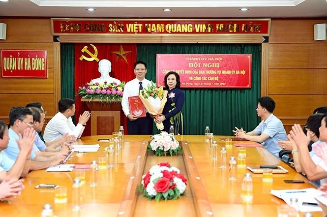 Hà Nội: Quận ủy Hà Đông có Bí thư mới