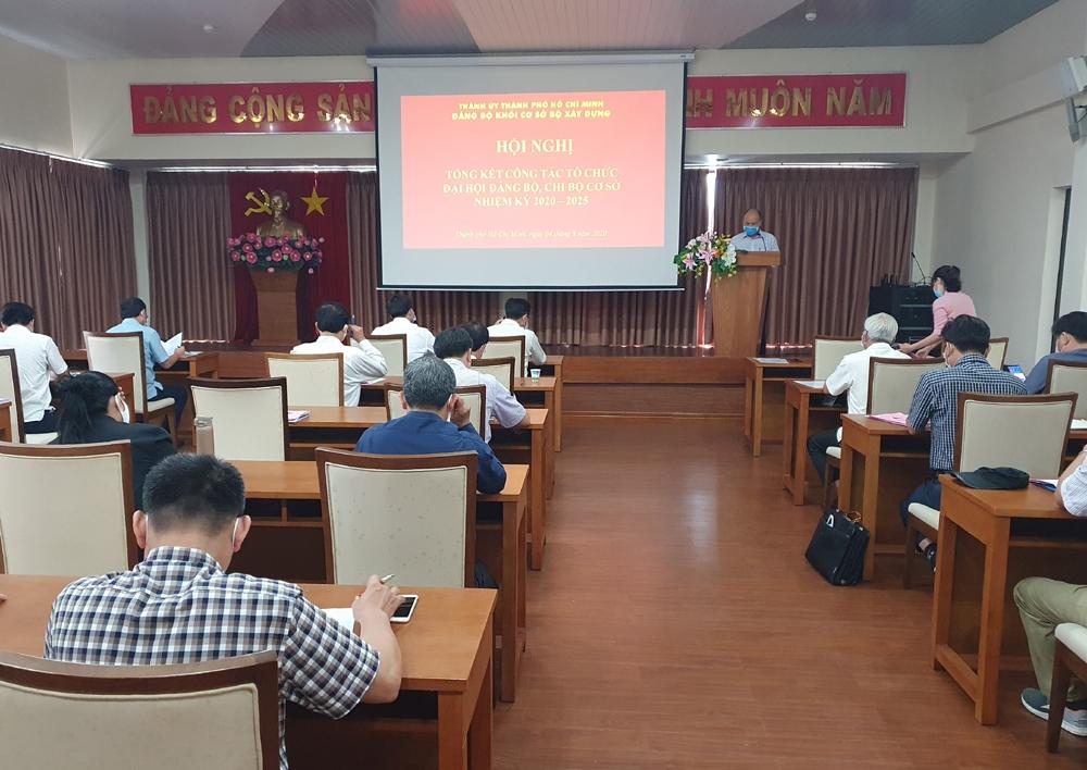 Đảng ủy Khối cơ sở Bộ Xây dựng: Tổng kết công tác chỉ đạo Đại hội cơ sở nhiệm kỳ 2020 – 2025
