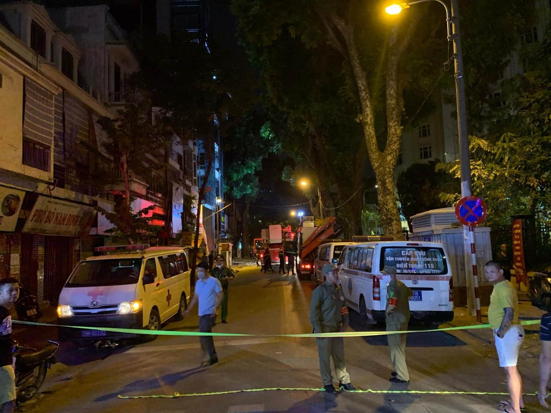 Hà Nội: Khởi tố vụ án sập sàn treo khiến 4 người tử vong