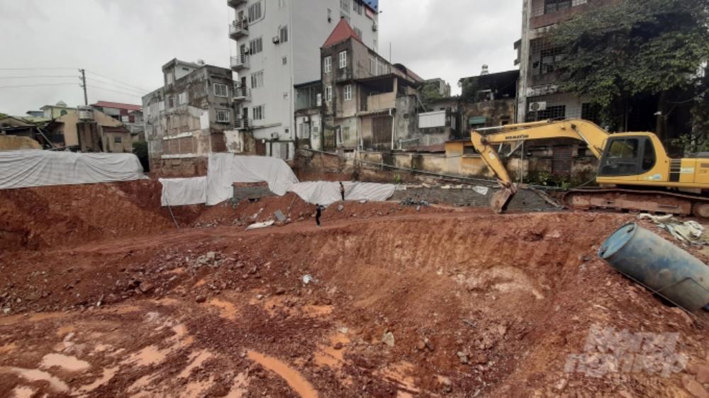 Thái Nguyên: Đào móng công trình, nhiều nhà dân nguy cơ sập đổ