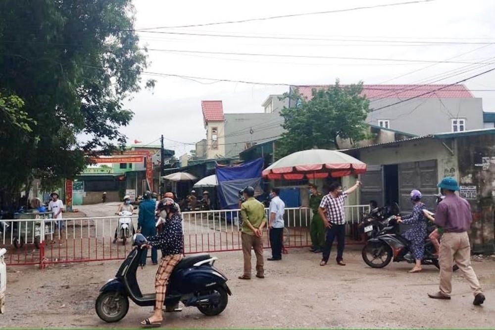 Sầm Sơn (Thanh Hóa): Ca nghi nhiễm tại phường Quảng Vinh có kết quả dương tính với Covid-19
