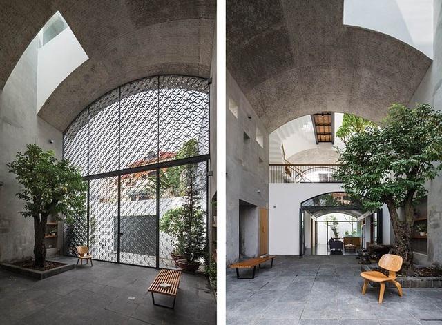 Ngôi nhà Sài Gòn như hang động nhờ thiết kế không gian vòm độc đáo
