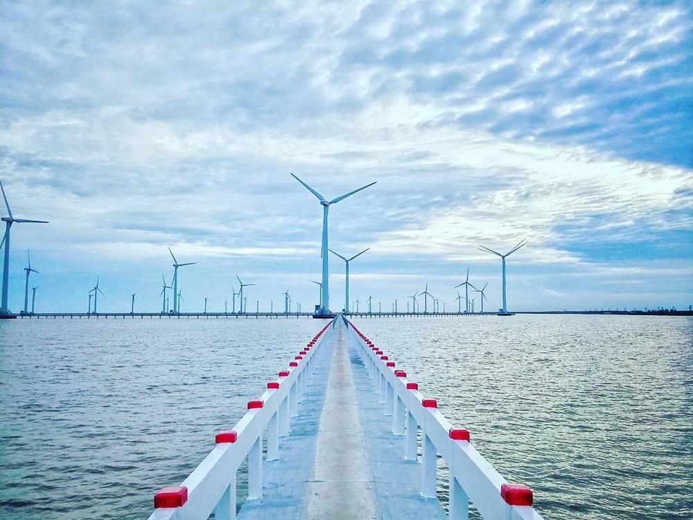 Bến Tre phê duyệt và triển khai 6 nhà máy điện gió