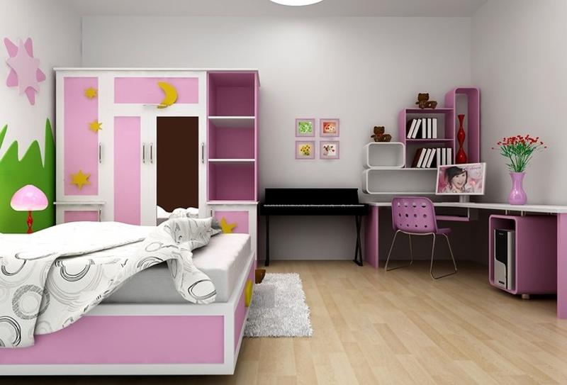 Cách thiết kế phòng ngủ trẻ em đẹp và khoa học