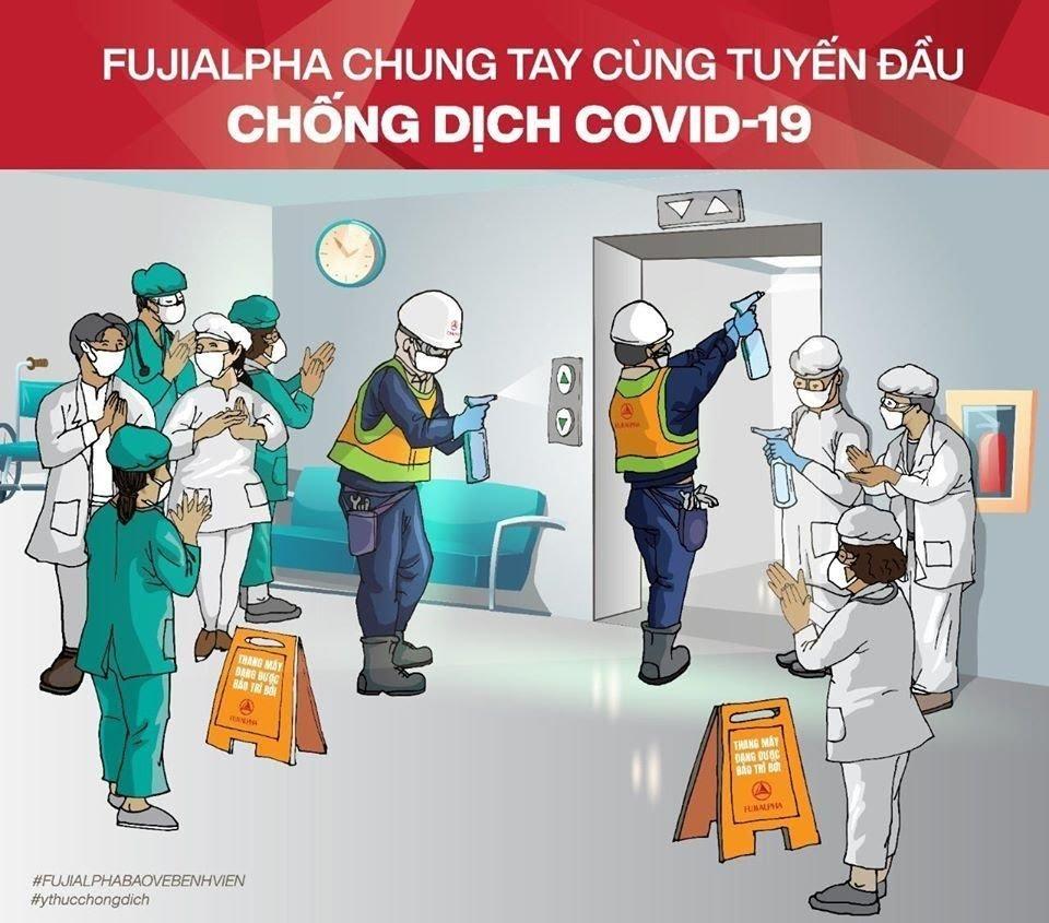 Gần 40 bệnh viện trên toàn quốc sử dụng dịch vụ bảo trì thang máy của Fujialpha