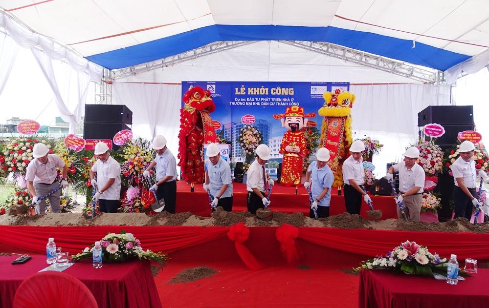 Thái Bình: Khởi công xây dựng công trình thuộc dự án Thành Công Tower