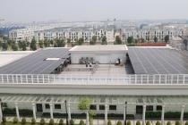 Đại sứ quán Anh thăm dự án điện mặt trời áp mái tại trường Đại học VinUni