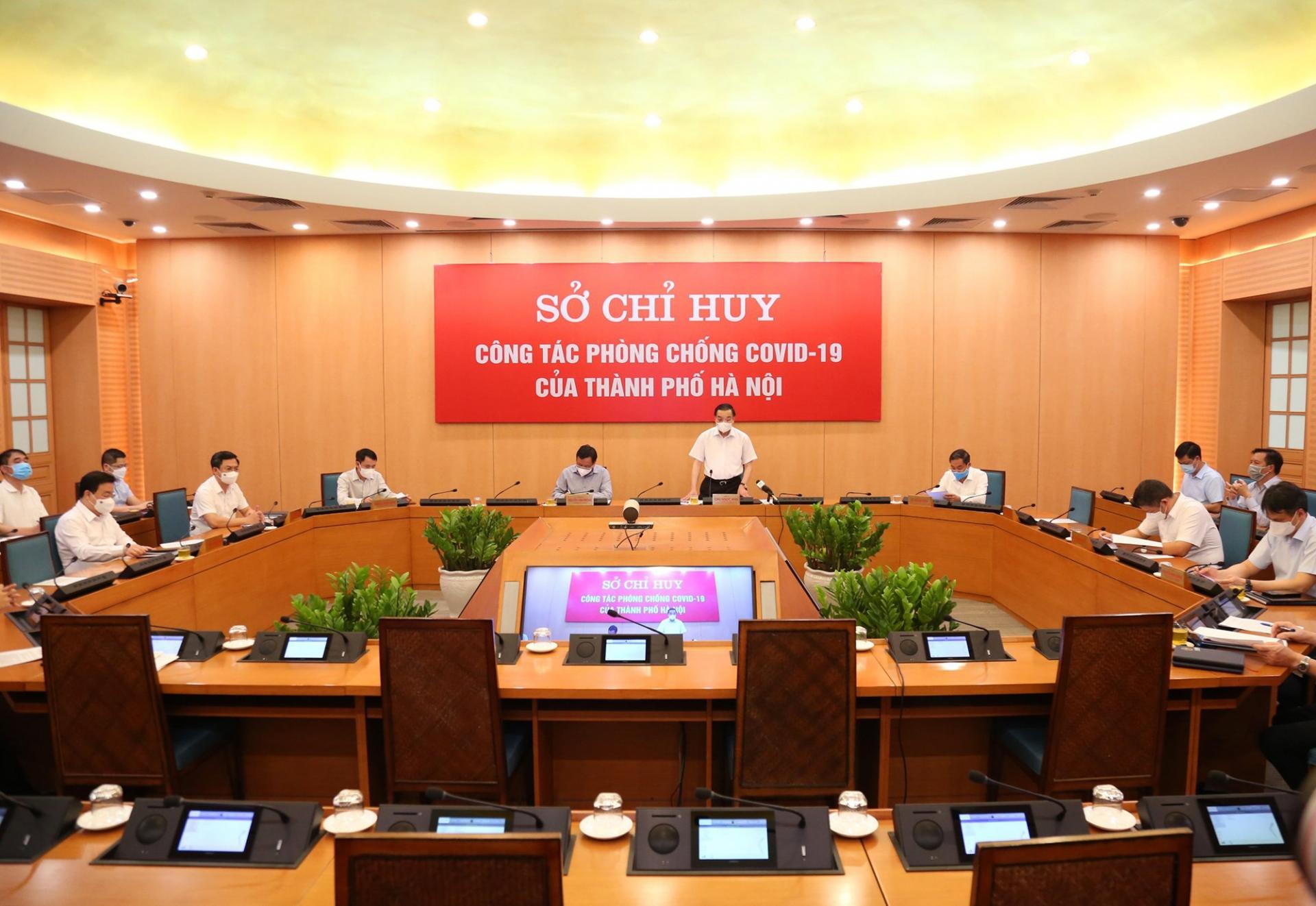 Chủ tịch UBND Thành phố Hà Nội Chu Ngọc Anh: Những ngày giãn cách còn lại có ý nghĩa rất quan trọng