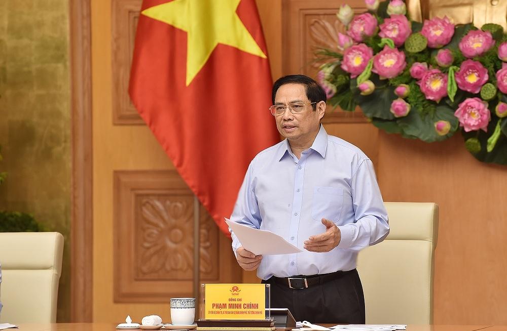Kết luận của Thủ tướng Chính phủ Phạm Minh Chính tại cuộc họp về nghiên cứu, sản xuất vaccine, thuốc phòng, chống COVID-19 trong nước