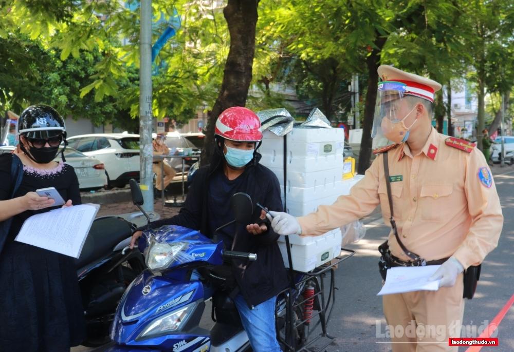Hà Nội: Xử phạt 1.013 trường hợp vi phạm công tác phòng chống dịch trong ngày 28/8