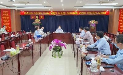 Đoàn công tác của Bộ Xây dựng làm việc với quận 6 và quận 8, Thành phố Hồ Chí Minh