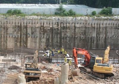 Trên công trình xây dựng Nhà Quốc hội cuối tháng 9