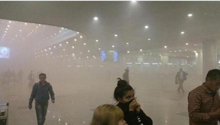 Hỏa hoạn tại sân bay Nga, 3.000 hành khách phải sơ tán