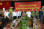 Bộ Nội vụ, Quốc phòng, VKSNDTC bổ nhiệm nhân sự mới