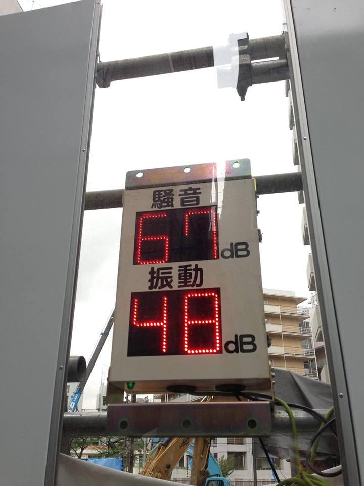 Máy đo độ ồn tại công trình xây dựng