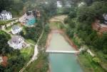 Đà Lạt: Ngang nhiên xây kè bê tông chắn ngang mặt hồ di tích quốc gia