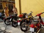 Thừa Thiên - Huế: Phát hiện nhiều xe môtô không có nguồn gốc, xuất xứ