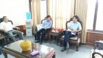 Đoàn công tác Báo Xây dựng làm việc với Ban Tuyên giáo Tỉnh ủy Hải Dương