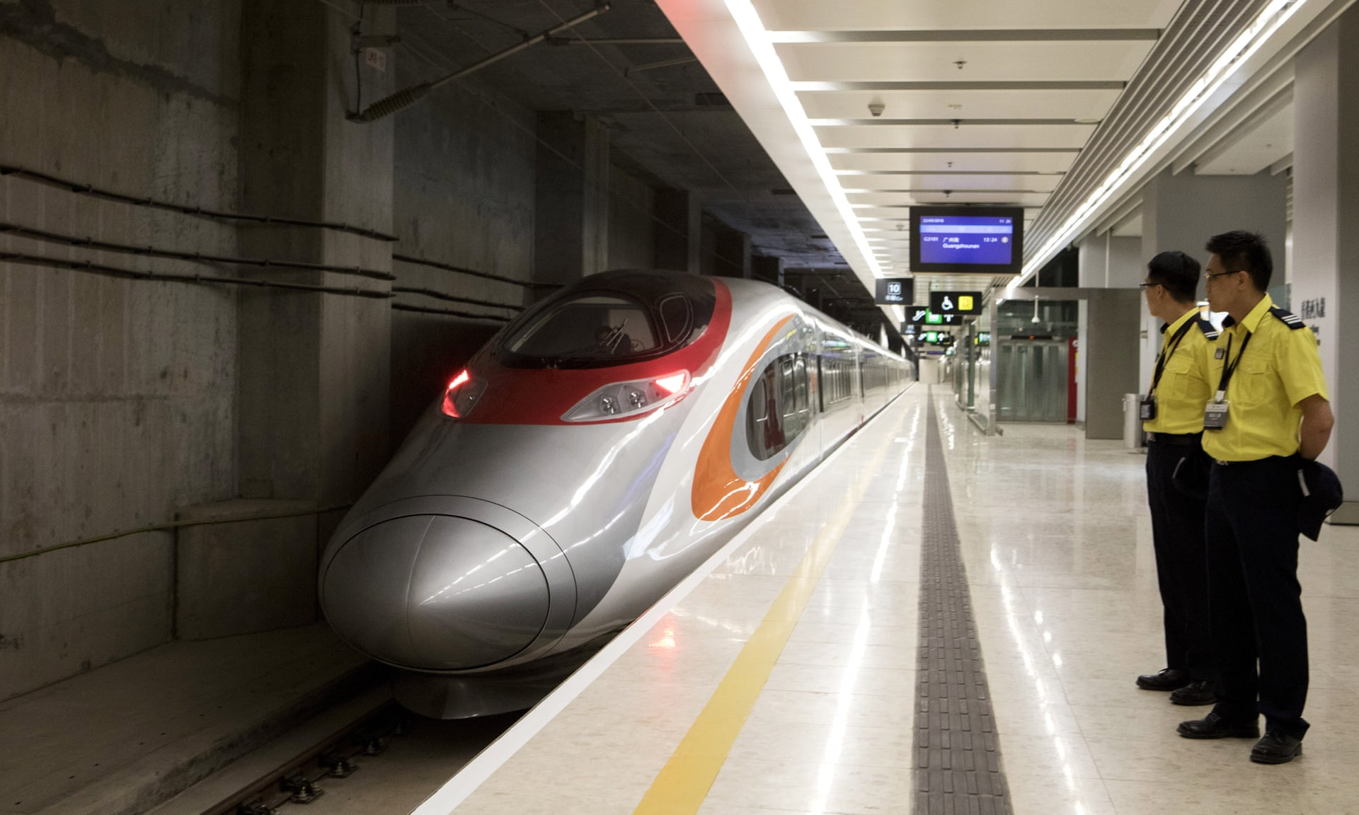Hong Kong khai trương tuyến cao tốc đi Trung Quốc đại lục