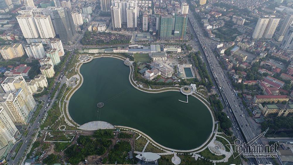 Hà Nội kêu gọi hàng chục tỷ đồng đầu tư 2 dự án công viên mở