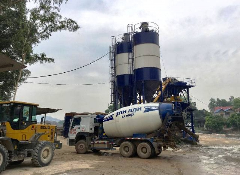 Thái Nguyên: Nhiều trạm trộn bê tông không đủ điều kiện hoạt động